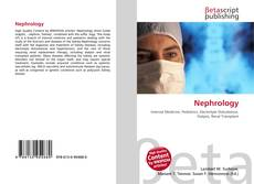 Bookcover of Nephrology