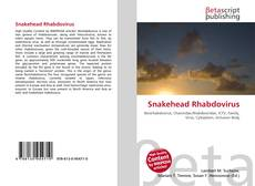 Copertina di Snakehead Rhabdovirus