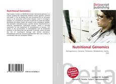 Обложка Nutritional Genomics