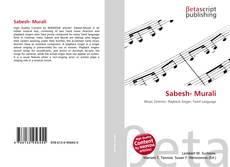 Bookcover of Sabesh- Murali