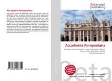 Buchcover von Accademia Pomponiana