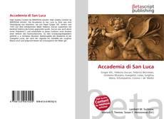 Buchcover von Accademia di San Luca