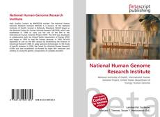 Обложка National Human Genome Research Institute