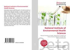 Bookcover of National Institute of Environmental Health Sciences