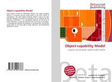 Обложка Object-capability Model