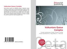 Bookcover of Vaikuntam Queue Complex