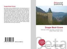 Bookcover of Snape Boat Grave