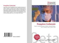 Couverture de Propylene Carbonate