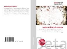 Buchcover von Vaikunthbhai Mehta