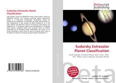 Обложка Sudarsky Extrasolar Planet Classification