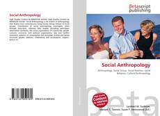 Bookcover of Social Anthropology