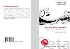 Buchcover von Sulaiman Abu Ghaith