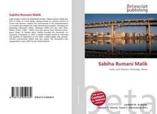 Sabiha Rumani Malik kitap kapağı