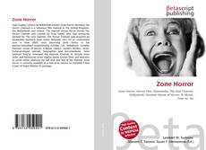 Bookcover of Zone Horror