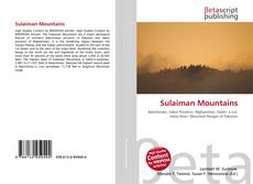 Couverture de Sulaiman Mountains