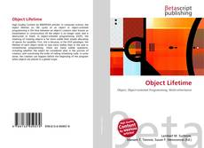 Bookcover of Object Lifetime
