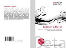 Couverture de Sulaiman S. Olayan