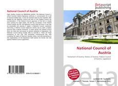 Portada del libro de National Council of Austria