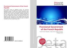 Bookcover of Provisional Government of the French Republic