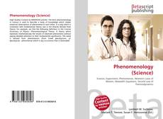 Capa do livro de Phenomenology (Science)