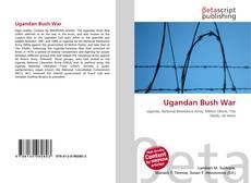 Capa do livro de Ugandan Bush War