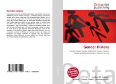 Capa do livro de Gender History