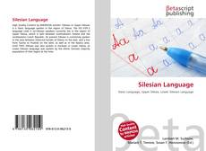 Bookcover of Silesian Language
