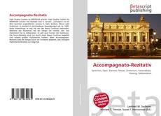 Capa do livro de Accompagnato-Rezitativ