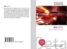 Bookcover of IBM 1711