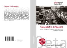 Capa do livro de Transport in Singapore