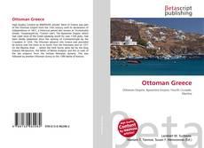 Bookcover of Ottoman Greece