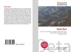 Bookcover of Zone Run