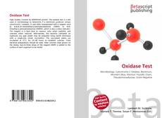 Bookcover of Oxidase Test