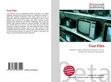 True Files kitap kapağı