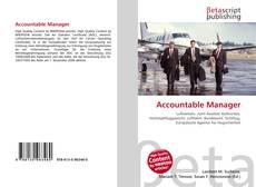 Capa do livro de Accountable Manager