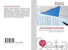 Capa do livro de Accounting Transaction