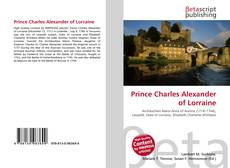 Bookcover of Prince Charles Alexander of Lorraine
