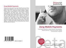 Bookcover of Zong Mobile Payments