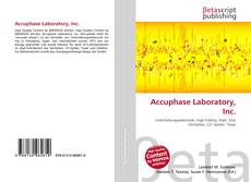 Bookcover of Accuphase Laboratory, Inc.