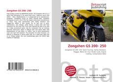 Portada del libro de Zongshen GS 200- 250
