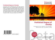 Bookcover of Prohibited Degree of Kinship