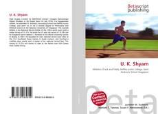 U. K. Shyam kitap kapağı