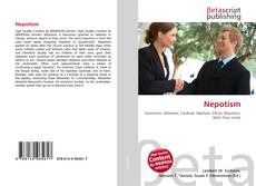 Bookcover of Nepotism