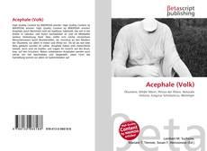 Borítókép a  Acephale (Volk) - hoz