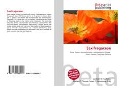 Buchcover von Saxifragaceae