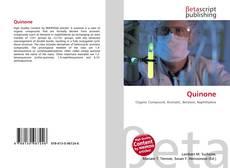 Bookcover of Quinone