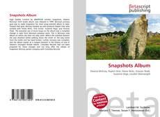 Buchcover von Snapshots Album