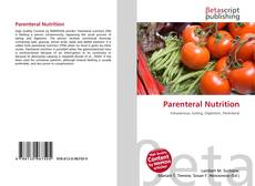 Bookcover of Parenteral Nutrition