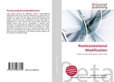Bookcover of Posttranslational Modification