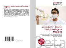 Buchcover von University of Central Florida College of Medicine